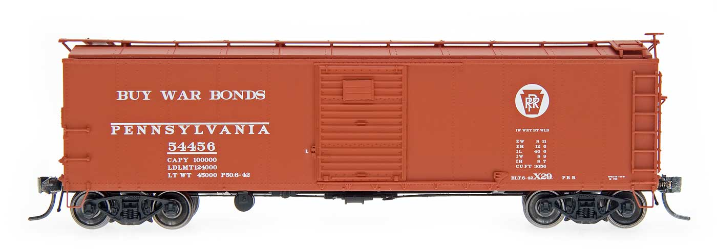 HO Scale X29 Box Cars Announced