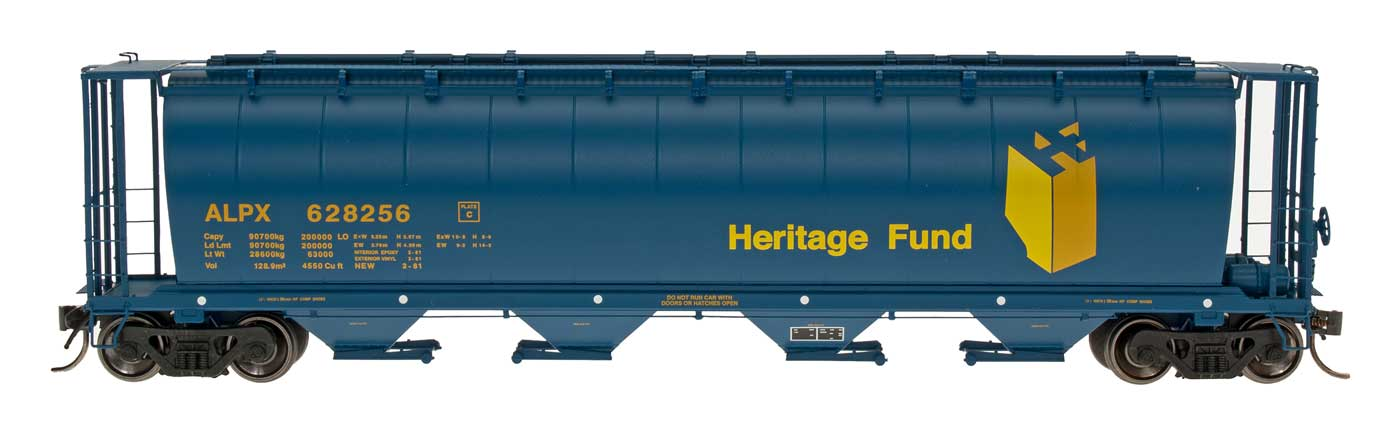 Great Northern 4650 3 Bay Covered Hopper 4 No/'s New Old Stock Intermountain