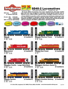 Conrail Rock Island Canadian Pacific Chessie System Missouri Kansas Texas MKT Florida East Coast BNSF British Columbia Railway