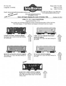 Union Pacific Boston & Maine Chicago & North Western NC&STL ILDX GE Lamps