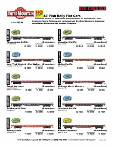 Chesapeake & Ohio New York Central Great Northern Baltimore & Ohio Pennsylvania Canadian Pacific Union Pacific Chicago North Western Southern Pacific Canada Southern