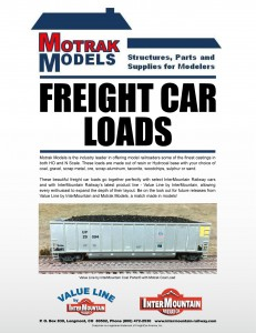 Motrak Models Freight Car Loads Announcement