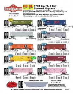 Jewell Coop Elevator Gray Data Only Illinois Central Gulf Grain Train Ralston Jefferson Minneapolis, Northfield & Southern Norfolk & Western Santa Fe 'Q' BNSF New Image West Bend Elevator Undecorated Kit
