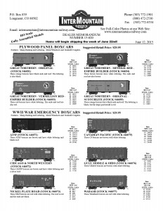 Great Northern Santa Fe Chicago & NorthWestern Nickel Plate Road Canadian Pacific Gulf, Mobile & Ohio Wabash