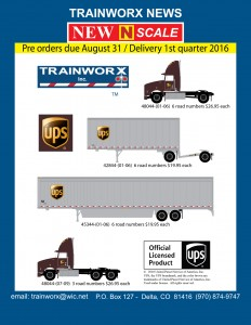 UPS® Trucks and Trailers
