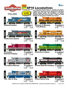 Seaboard System Family Lines System RJ Corman The Indiana Railroad CSX Genesee & Wyoming York Railway Pee Dee River Louisville & Indiana Everett Railroad Company United States Army