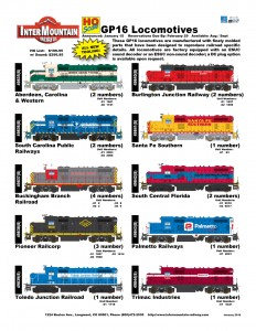 Aberdeen, Carolina & Western South Carolina Public Railways Buckingham Branch Railroad Pioneer Railcorp Toledo Junction Railroad Burlington Junction Railway Santa Fe Southern South Central Florida Palmetto Railways Trimac Industries