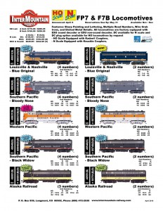 Louisville & Nashville Southern Pacific Western Pacific Alaska Railroad