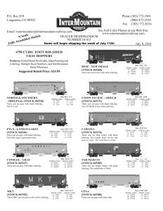 Norfolk Southern PTLX Land-O-Lakes Conrail MKT BNSF New Image Union Pacific Cargill Far-Mar-Co CPAA