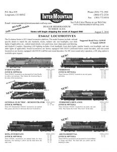 Union Pacific General Electric Demo Iowa Interstate Ferrosur Ferromex Diex Anos Arcelormittal