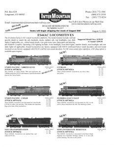 Union Pacific Sava Transportation Citirail Florida East Coast Iowa Interstate Heritage