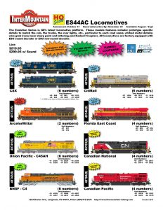 CSX ArcelorMittal Union Pacific BNSF CitiRail Florida East Coast Canadian National Canadian Pacific