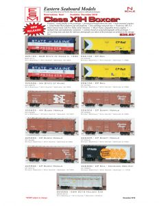 State of Maine New Haven Canadian Pacific CP Rail BAR Holiday Car
