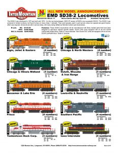 Elgin, Joliet & Eastern Chicago & Illinois Midland Bessemer & Lake Erie Frisco Yankeetown Dock Corp. Chicago & North Western Duluth, Missabe & Iron Range Louisville & Nashville Southern Pacific Iowa Interstate