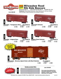 Milwaukee Road Hiawatha Brewery Undecorated Kit
