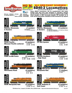Dakota, Minnesota & Eastern Missouri Pacific FURX ex-BN Milwaukee Road Genesee & Wyoming Marquette Rail CP Rail Norfolk Southern Alabama & Gulf Coast