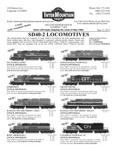 Seaboard Coast Line Ferromex Kansas City Southern BNSF Louisville & Nashville Grand Trunk Western Canadian National