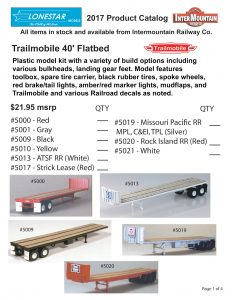Trailmobile 40' Flatbed